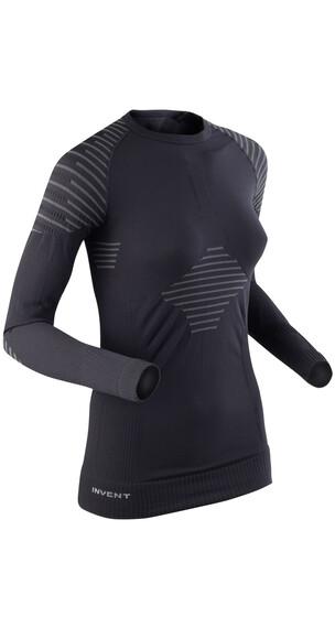 X-Bionic Invent Shirt L/S Women Black/Anthracite